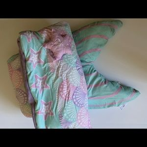 Mermaid tail leg warmer